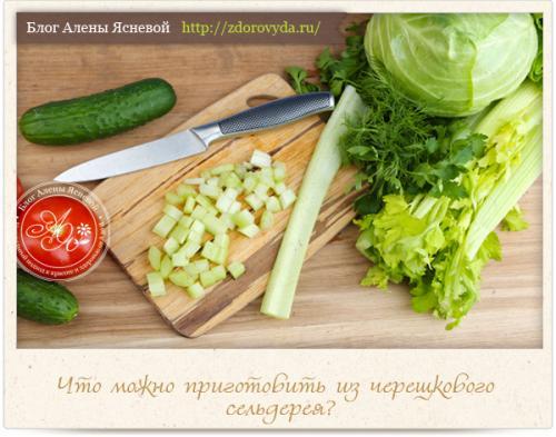 Сельдерей, как готовить. Как приготовить стебли сельдерея вкусно, полезно и необычно — интересные рецепты