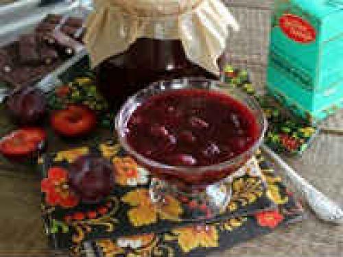 Шоколадно сливовое варенье. Варенье из сливы с шоколадом — рецепты на зиму (с, какао, шоколадом, маслом, орехами)