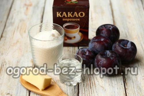 Слива в шоколаде с какао и маслом. Варенье «Слива в шоколаде» с какао — самое вкусное