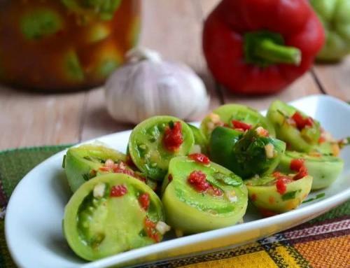 Заготовки из недозрелых помидор на зиму. Зеленые помидоры на зиму в банках — 8 вкусных простых рецептов